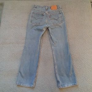 Awesome faded vintage Levis 517 made in USA